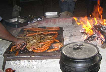barbecue © Wild Dog Safaris
