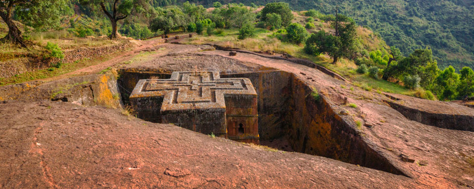 Lalibela - Rock church of St Georges © Shutterstock - Yury Birukov
